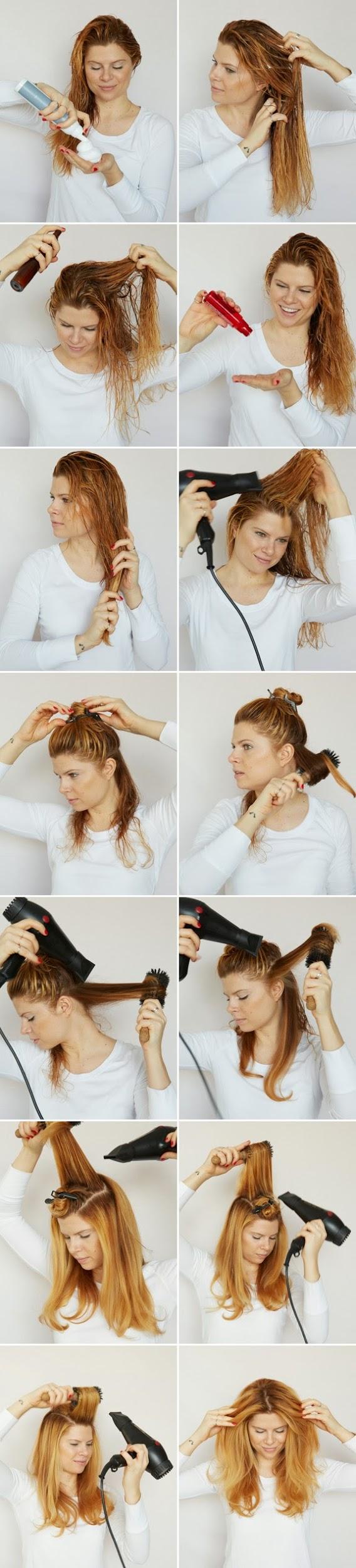 Укладка волнами на средние волосы в домашних условиях фото пошагово