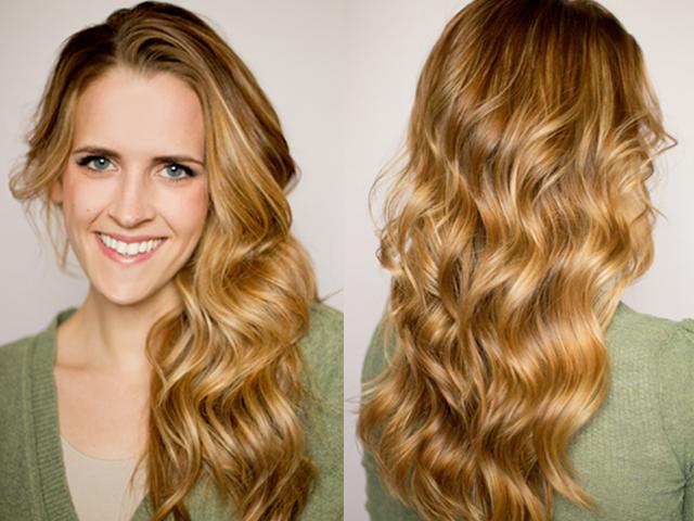 Фото как сделать волнистые волосы